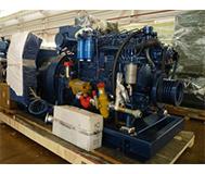 90кВт-Weichai-морской генератор установлен-ы