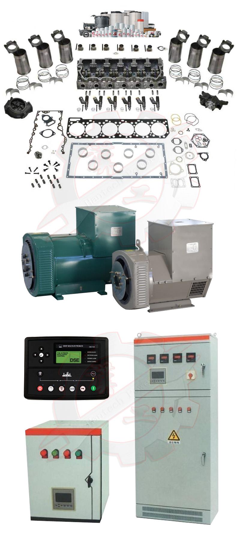 generador-set-piezas de repuesto